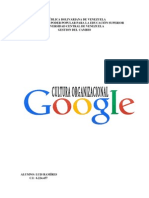 Cultura Organizacional de Google