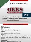 Clase Etas-higiene Alimentaria-temas de Seminario