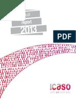 ICASO Annual Report 2013