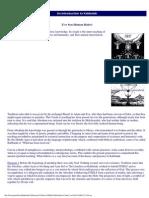 An Introduction to the Kabbalah