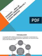 Ecografía Normal de Placenta, Cordón Umbilical y Liq Amniótico