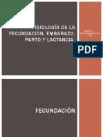Fisiología de La Fecundación, Embarazo, Parto