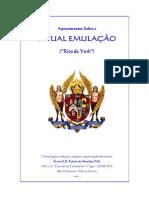 Apontamentos No Ritual de Emulaçao
