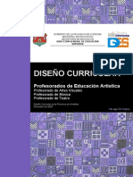 Documento Curricular Ed Artistica