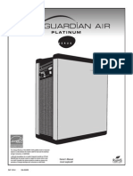 Guardian Air Platinum Owners Manual