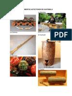 Instrumentos Autoctonos de Guatemala