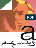 A_ a Novel - Andy Warhol