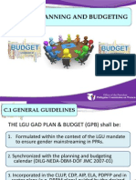 Local GAD Planning and Budgeting_JMC 2013