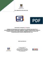 Terminos de Referencia Interventoria Obra Esterilizacion 2014i002