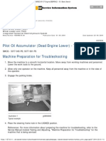 950H Wheel Loader JAD00001-UP Pilot Oil Accumulator