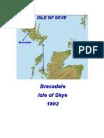 Bracadale, Isle of Skye 1802