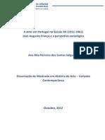 Dissertação. Rita Salgueiro