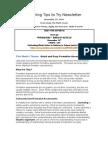 Teaching Tips to Try Newsletter November 30, 2009