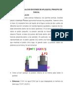 Máquinas Hidráulicas en Donde Se Aplique El Principio de Pascal