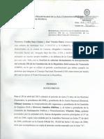 Interpretacion Articulo 296 Constitucion Periodo de Los Rectores CNE