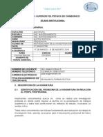 Cg10603 Metodologia de Investigación Marzo - Agosto 2014.