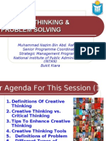 Creative Thinking & Problem Solving [March 09]