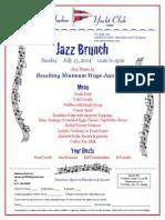 Sunday Jazz Brunch