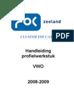 handleiding profielwerkstuk.VWO.2008-2009.doc.actueel