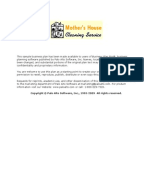 Janitorial service business plan