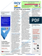 Pharmacy Daily for Thu 10 Jul 2014 - QPIP vax trial extended, API