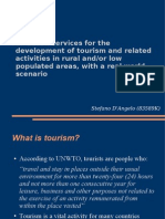 ICT-Based Services for the Development of Tourism and Related Activities