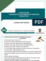 PRESENTACION Capacitación Manejo Tesoería de Los FSE