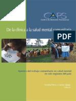 De La Clinica a La Salud Mental Comunitaria[1]