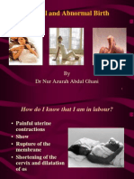 3 Normal and Abnormal Birth (Dr Nur Azurah)