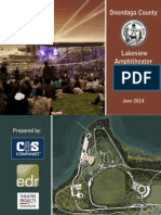 Onondaga County Lakeview Amphitheater Conceptual Design Report June 2014