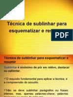 Apres_ Técnicas de sublinhar, esquematizar e resumir
