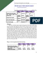 4. Phân tích giá vốn hàng bán