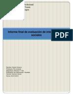 4° Informe final de evaluacion de intervenciones sociales
