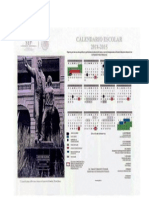 Calendario Escolar 2014 2015 Sep