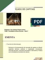 Aula 2 - MC - ADM - Mercados Primário e Secundário de Ações