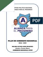 Plan Alianza Par Ael Progreso