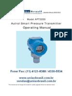 Manual Transmissores Apt3200g