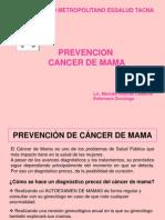 Prevencion Del CA de Mama