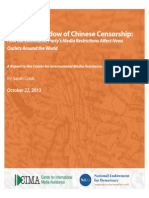 The Long Shadow of Chinese Censorship