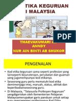 Kod Etiga Keguruan Di Malaysia