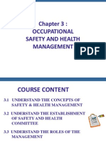 Chapter 3 - OSH Management