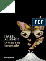 O Meu Pais Inventado - Isabel Allende