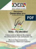 3. Asientos electorales