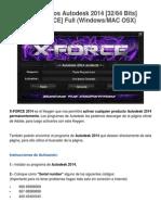 Activar Productos Autodesk 2014