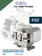 Steril lobe pump