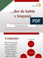 Presentación Taller de Habla y Lenguaje Final