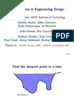 Optimization in Engineering Design