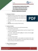 Modul Praktikum Teknik Switching 2013