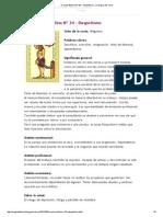 Oraculo Belline Nº 34 - Despotismo _ La Magia Del Tarot