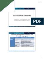 Ingeniería de Software Unidad III